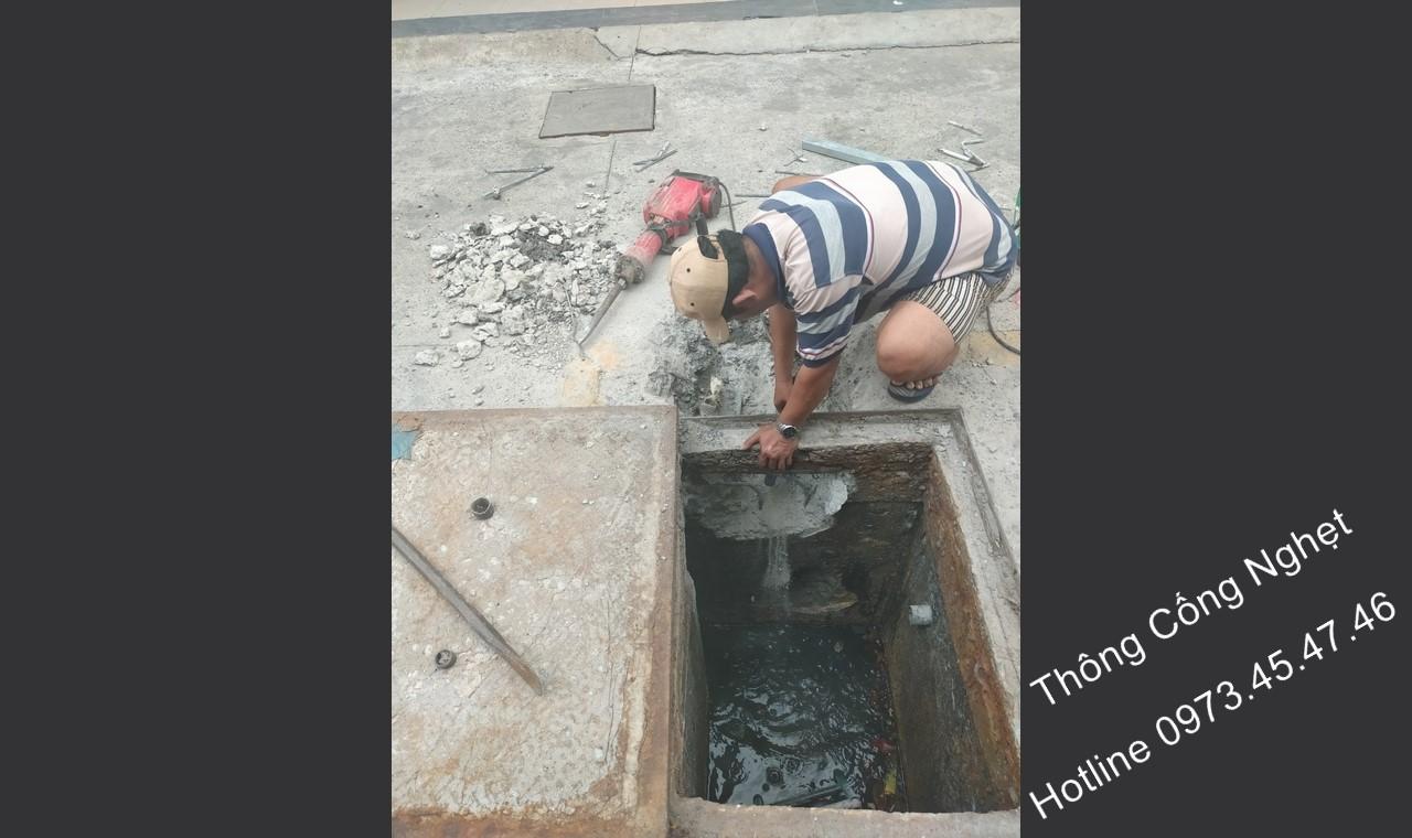 【 THÔNG CỐNG NGHẸT 】xã Nhị Bình Huyện Hóc Môn